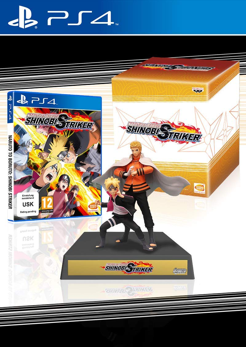 Naruto to Boruto Shinobi Striker Collector's Edition PS4 Portada
