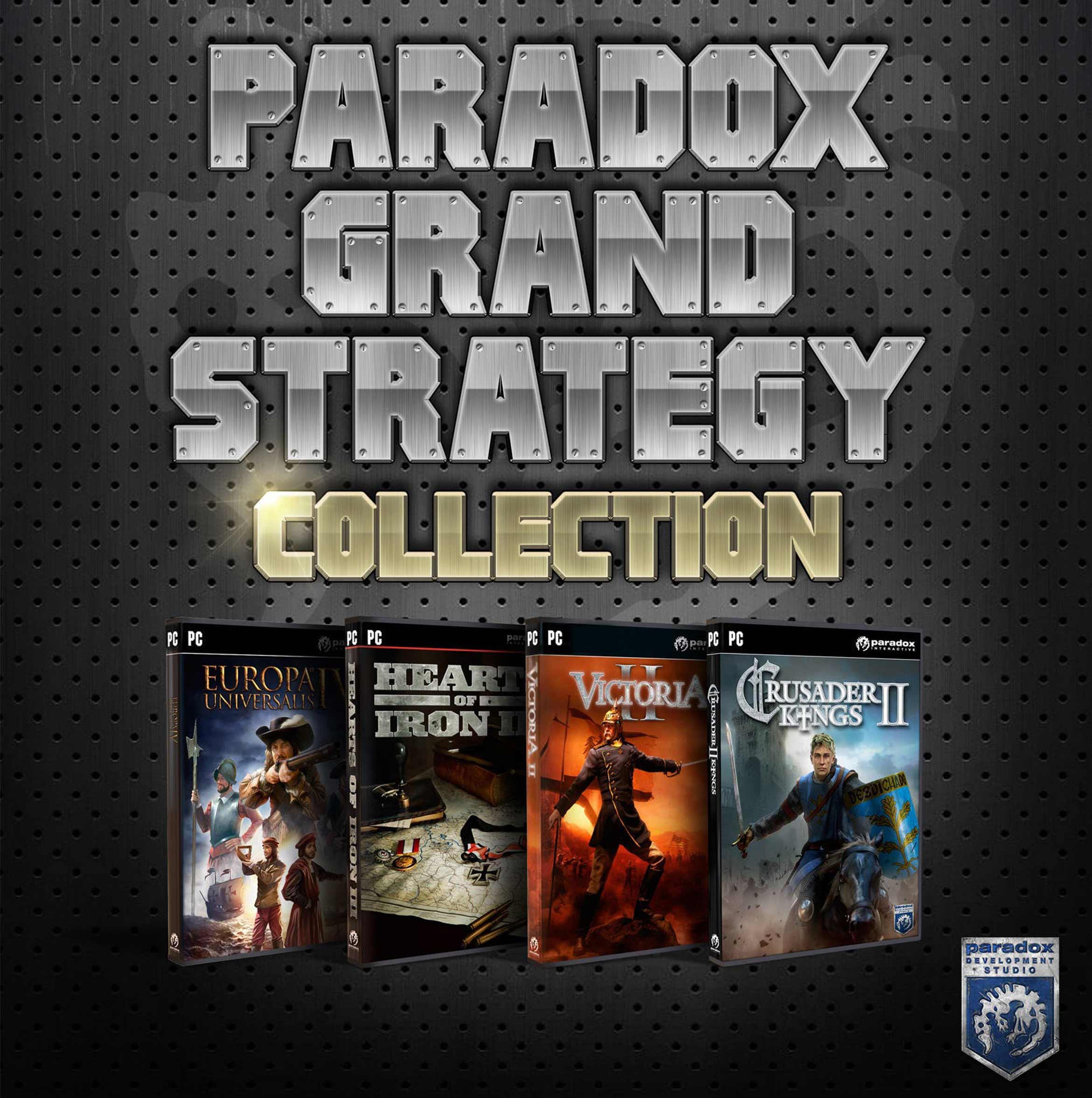 Paradox Grand Strategy Pack PC Portada