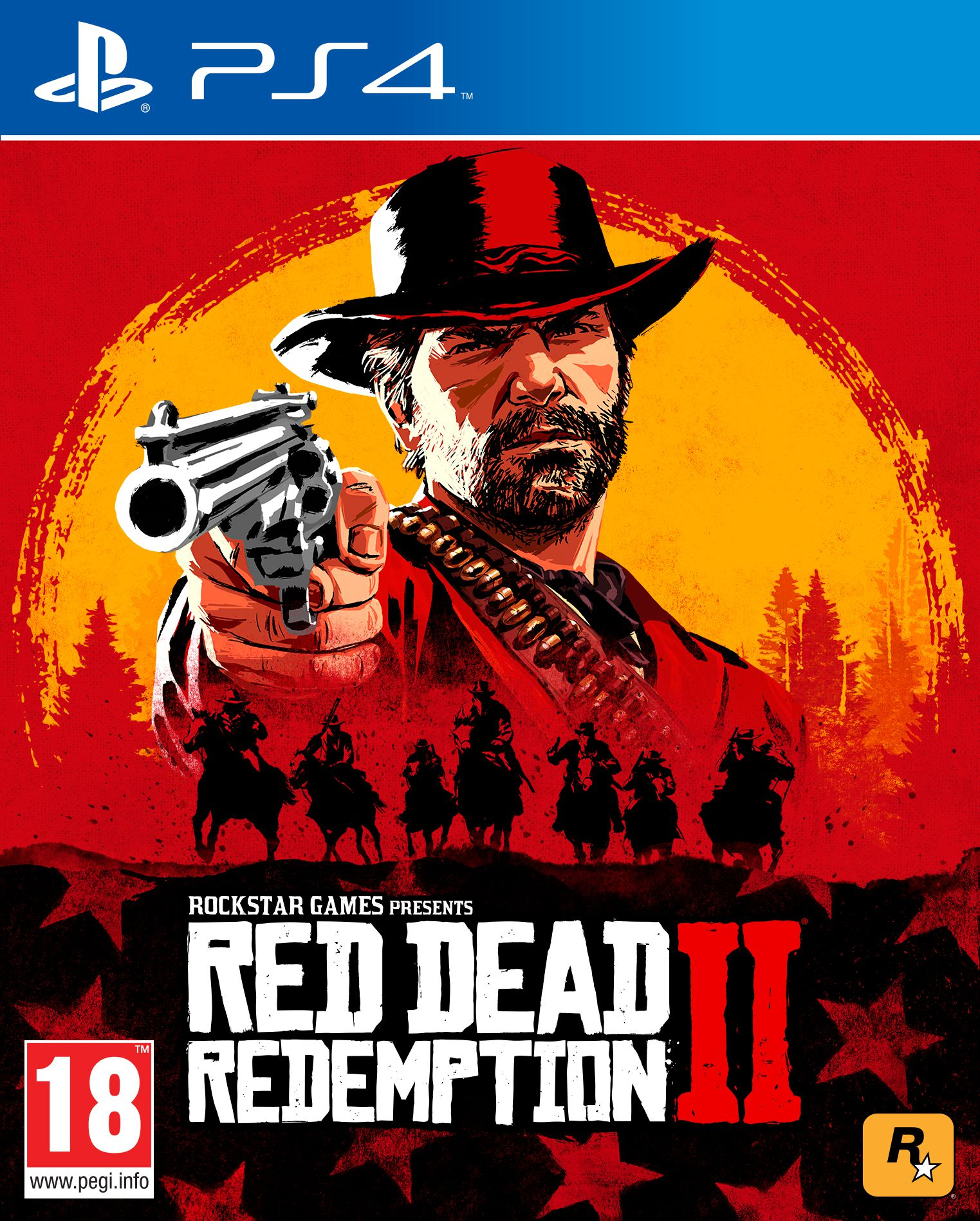 Red Dead Redemption 2 PS4 Portada