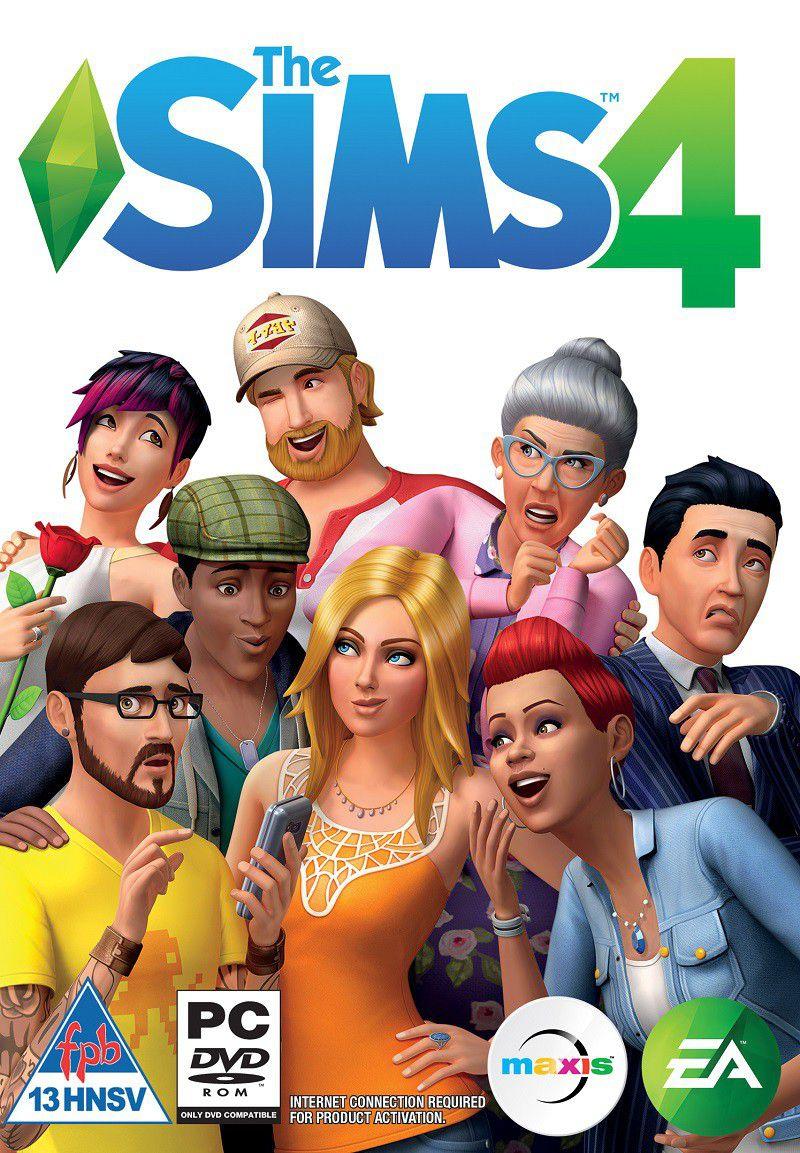 Sims 4 PC Portada