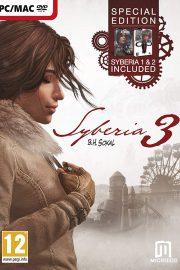 Syberia 3 + Syberia 1 y 2 PC Portada