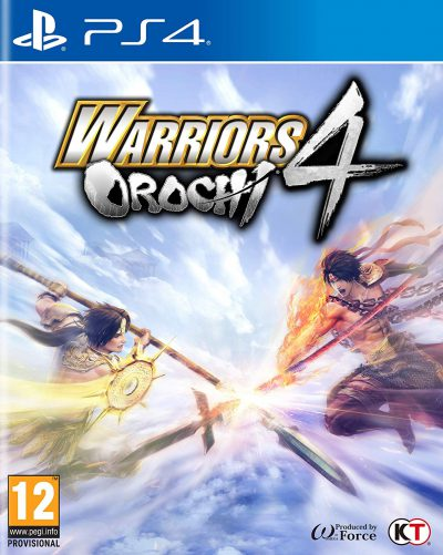 Warriors Orochi 4 PS4 Portada