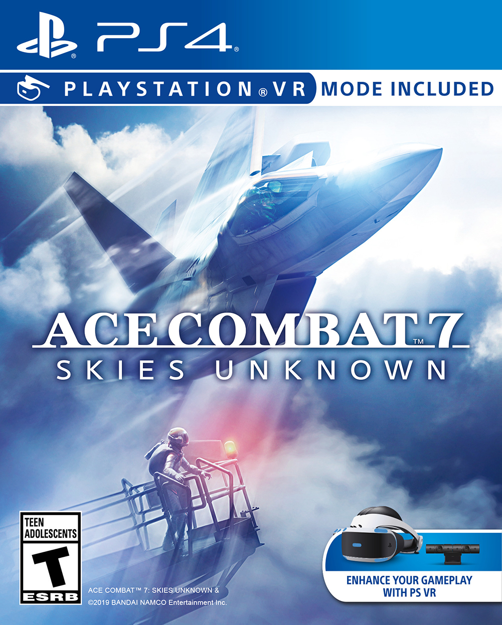 Ace Combat 7 Skies Unknown PS4 Portada