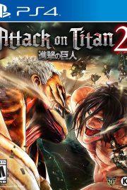 Attack on Titan 2 PS4 Portada