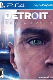 Detroit Become Human PS4 Portada