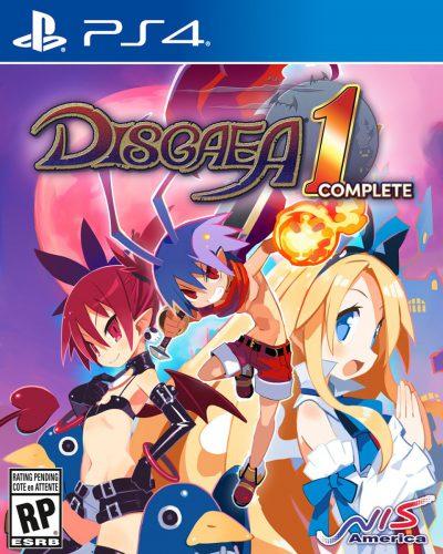 Disgaea 1 PS4 Portada