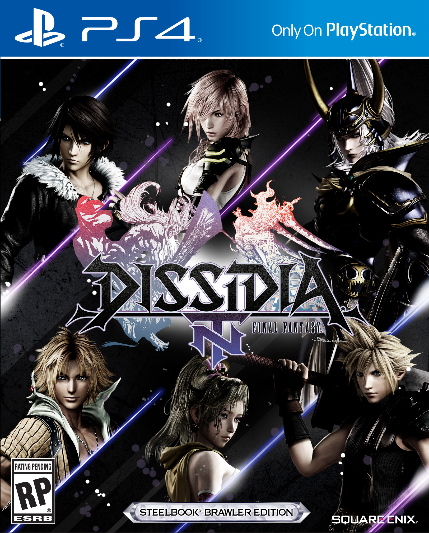 Dissidia Final Fantasy NT PS4 Portada