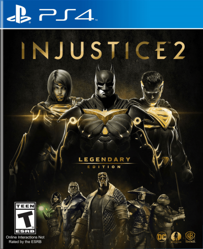 Injustice 2 Legendary Edition PS4 Portada
