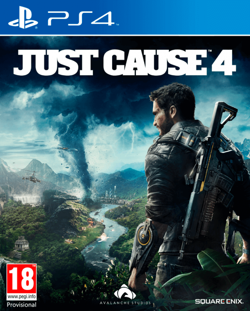 Just Cause 4 PS4 Portada