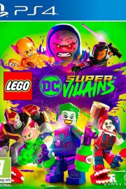 Lego DC Super Villanos PS4 Portada