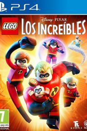 Lego Los Increibles PS4 Portada