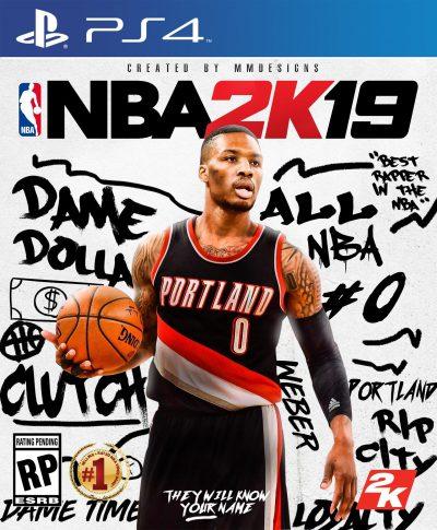 NBA 2K19 PS4 Portada
