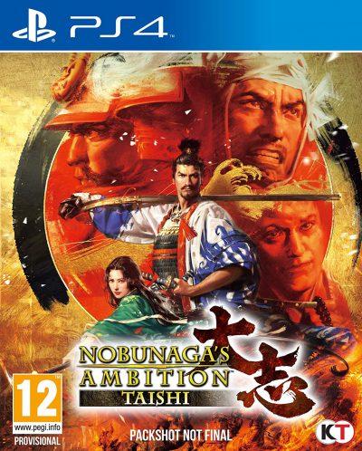 Nobunagas Ambition Taishi PS4 Portada