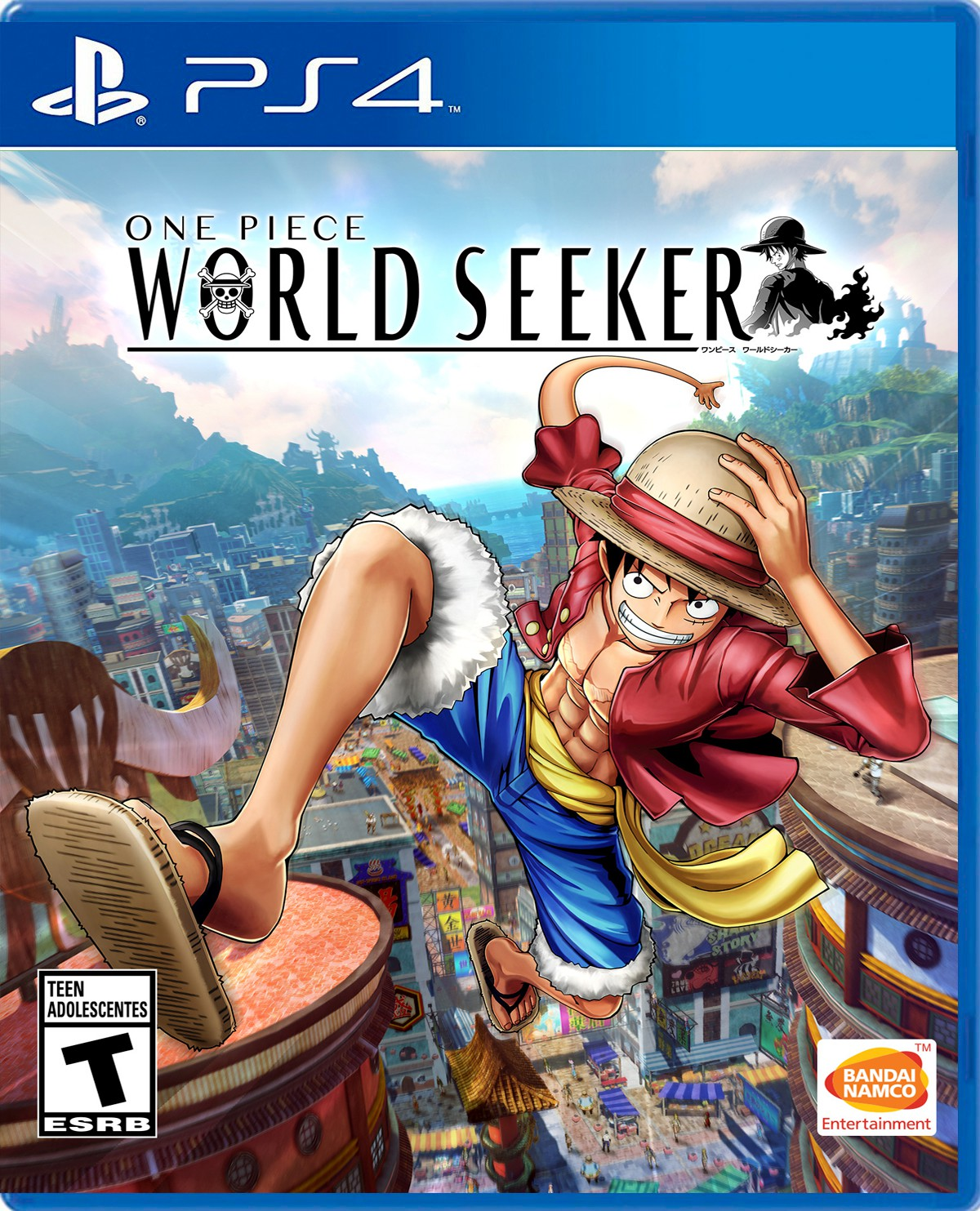 One Piece World Seeker PS4 Portada