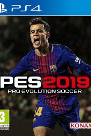 Pro Evolution Soccer 2019 PS4 Portada