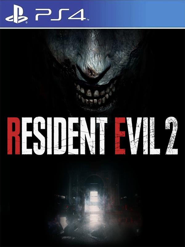 Resident Evil 2 Remake PS4 Portada