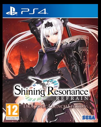 Shining Resonance Refrain Draconic Launch Edition PS4 Portada