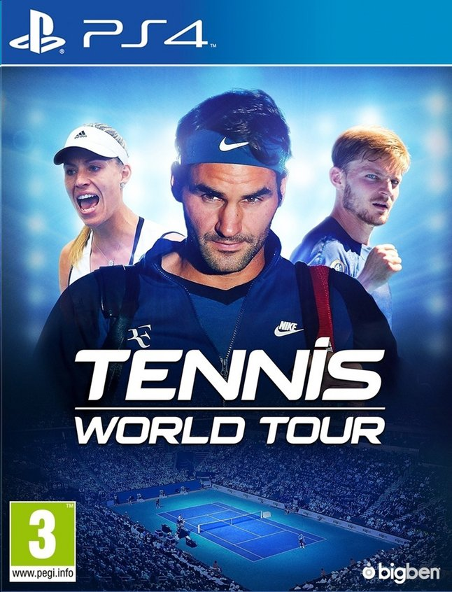 Tennis World Tour PS4 Portada