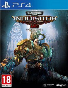 Warhammer 40000 Inquisitor Martyr PS4 Portada