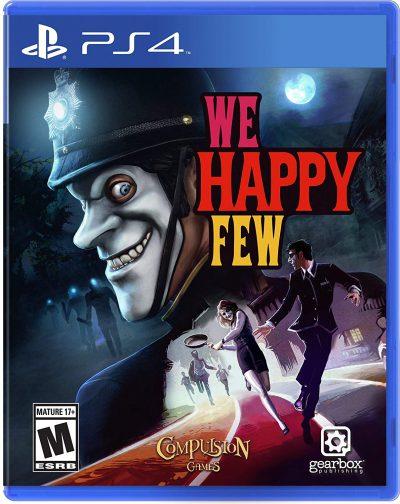 We Happy Few PS4 Portada
