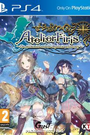 Atelier Firis The Alchemist and the Mysterious Journey PS4 Portada