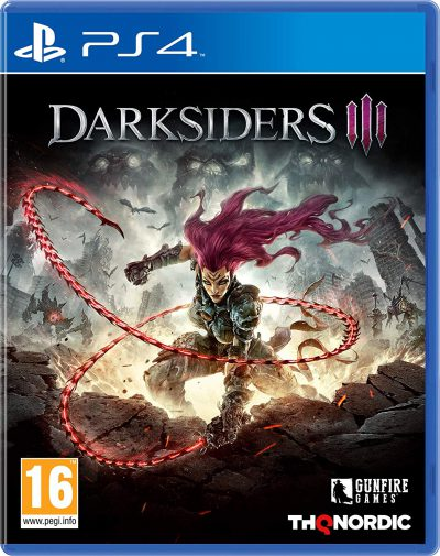 Darksiders III PS4 Portada