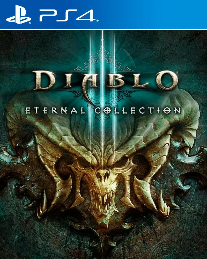 Diablo III Eternal Collection PS4 Portada