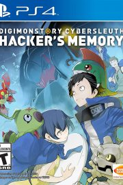 Digimon Story Cyber Sleuth Hacker's Memory PS4 Portada