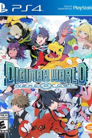 Digimon World Next Order PS4 Portada