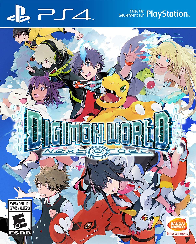 Digimon World Next Order PS4 Portada