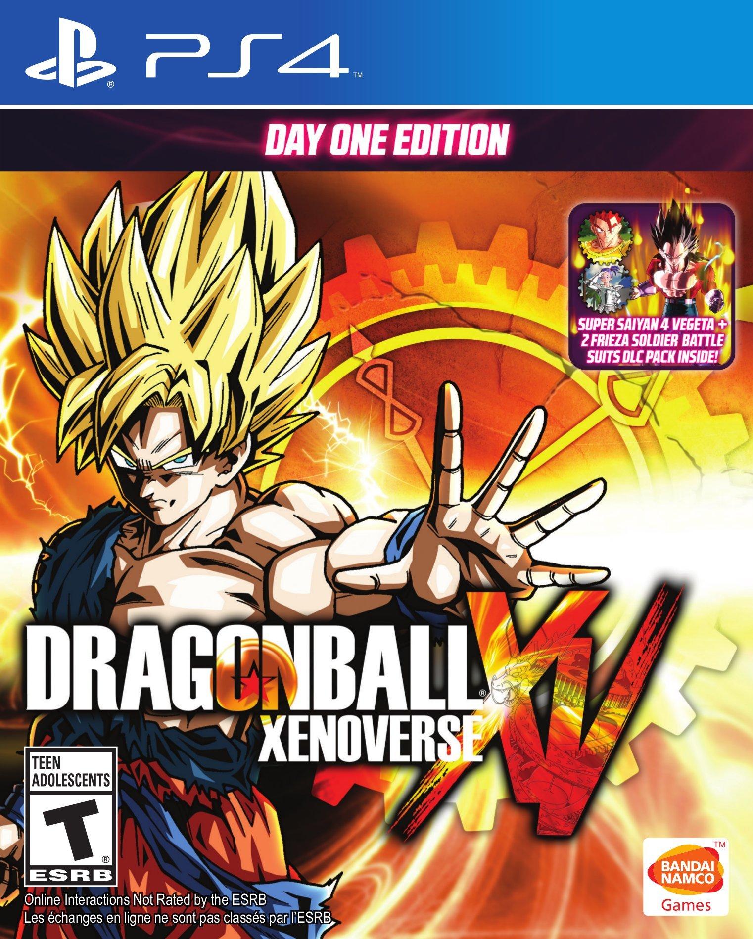 Dragon Ball Xenoverse PS4 Portada