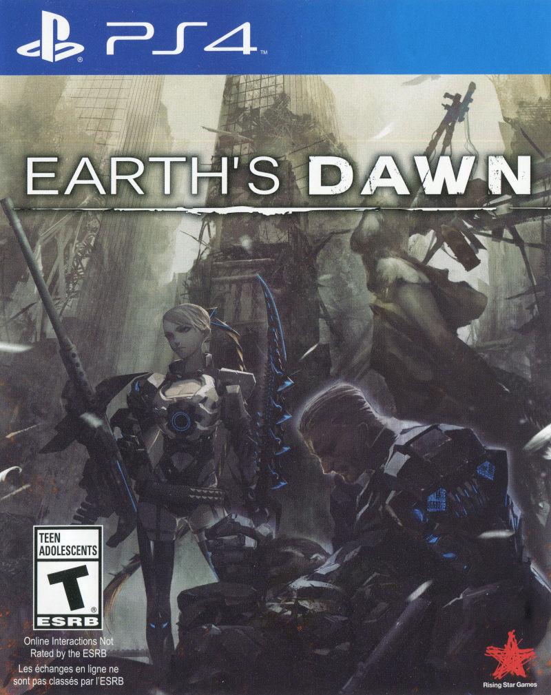 Earths Dawn PS4 Portada