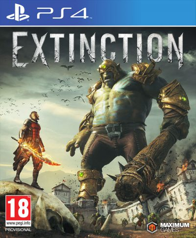 Extinction PS4 Portada