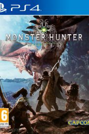 Monster Hunter World PS4 Portada