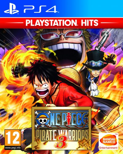 One Piece Pirate Warriors 3 Playstation Hits PS4 Portada