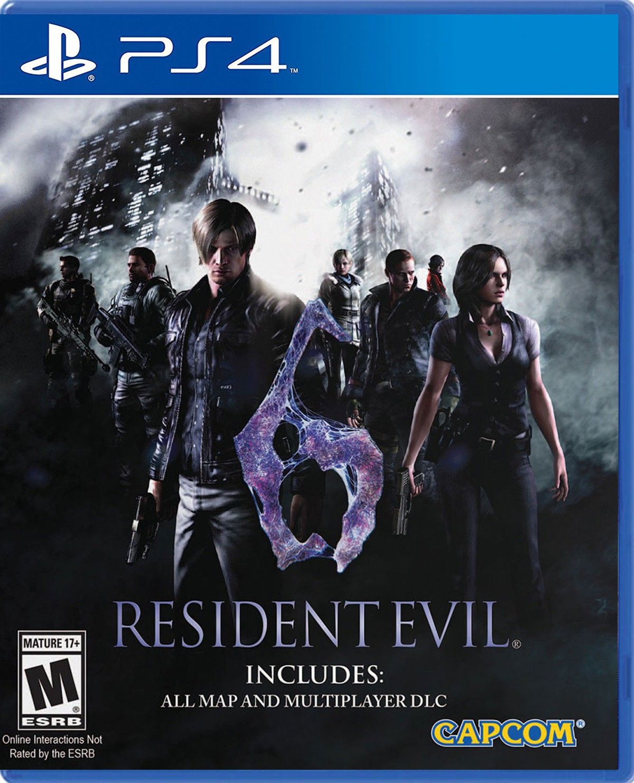 Resident Evil 6 HD PS4 Portada