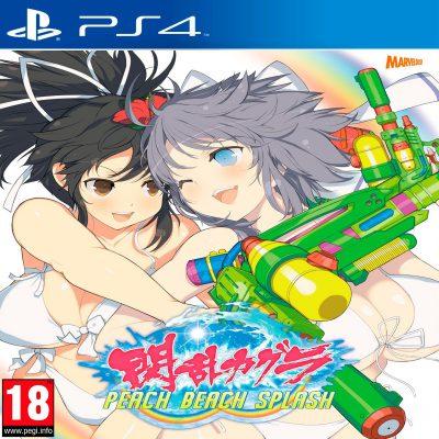 Senran Kagura Peach Beach Splash PS4 Portada