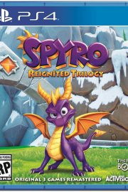 Spyro Reignited Trilogy PS4 Portada