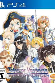 Tales of Vesperia Definitive Edition PS4 Portada
