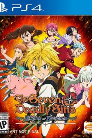 The Seven Deadly Sins Knights of Britannia PS4 Portada