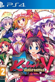 Touhou Kobuto V Burst Battle PS4 Portada