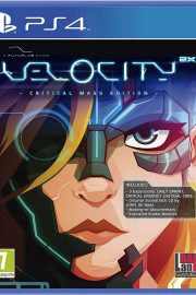 Velocity 2X Critical Mass Edition PS4 Portada