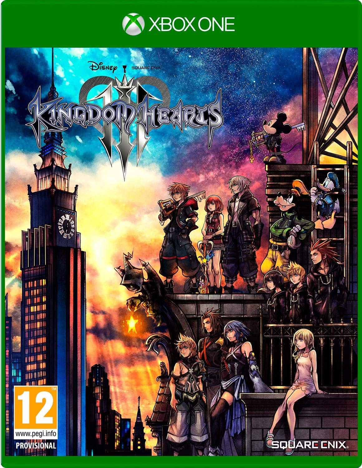 Kingdom Hearts 3 Standard Edition XBOX One
