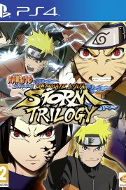 Naruto Ultimate Ninja Storm Trilogy PS4 Portada