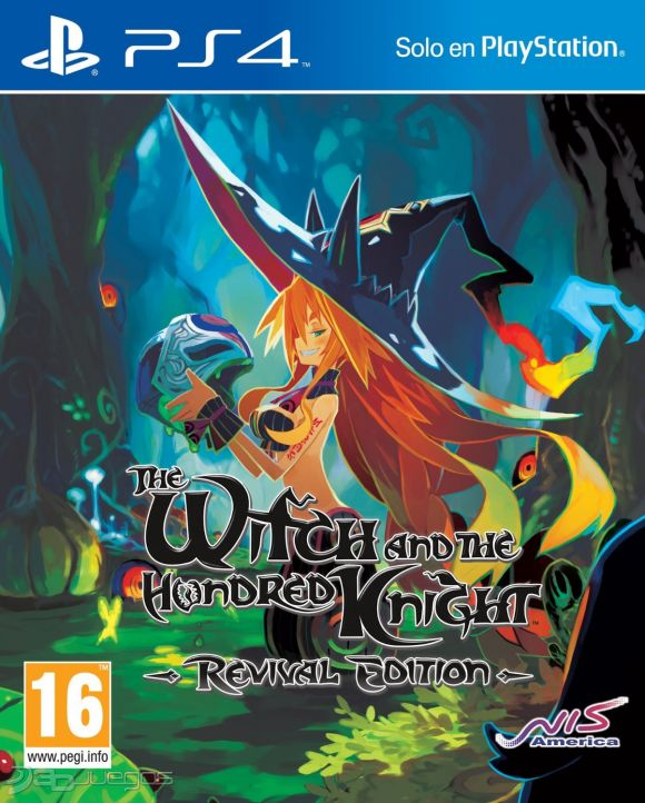 The Witch and The Hundred Knight PS4 Portada