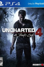 Uncharted 4 PS4 Portada