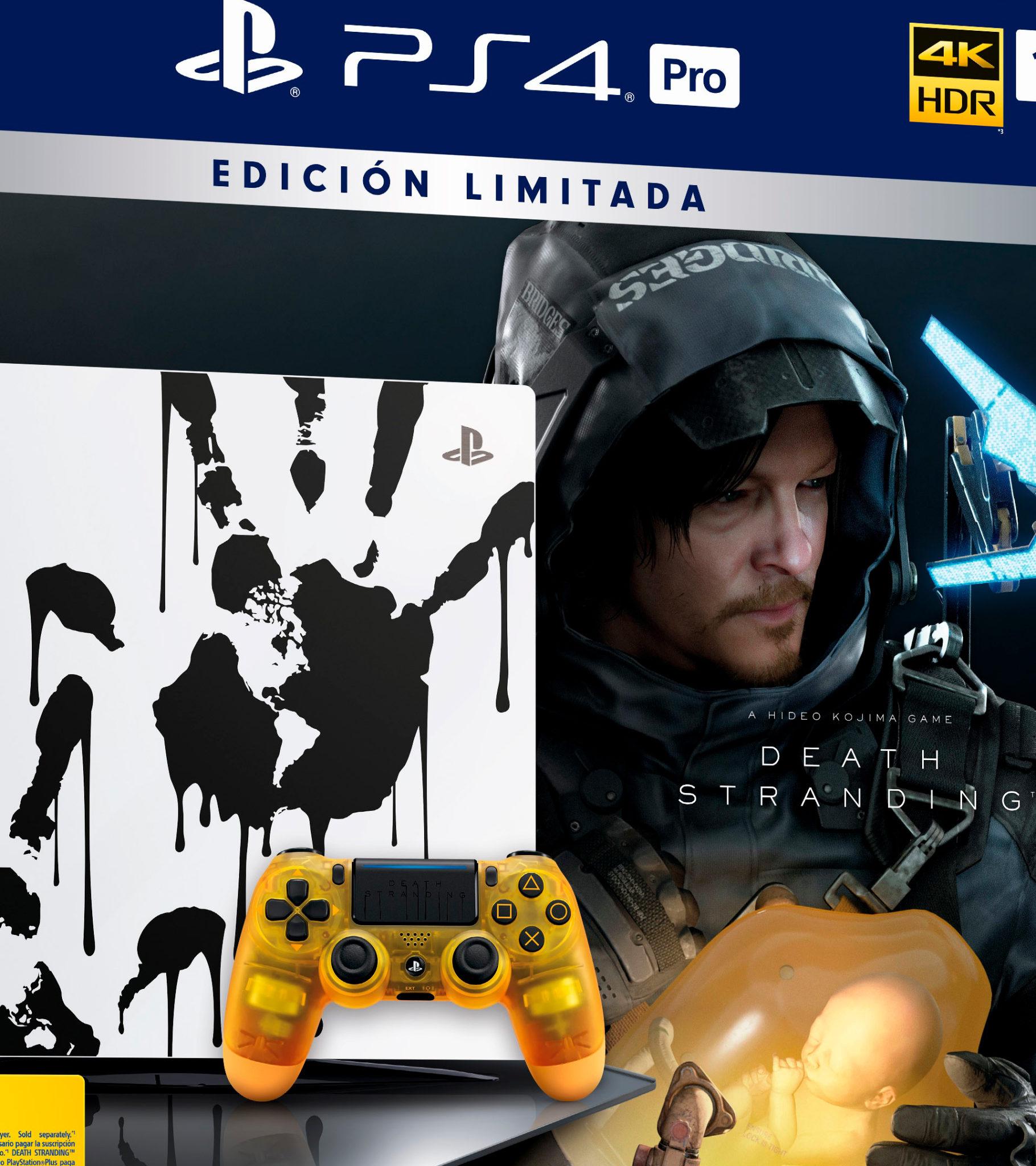 PlayStation 4 Pro 1TB Death Stranding